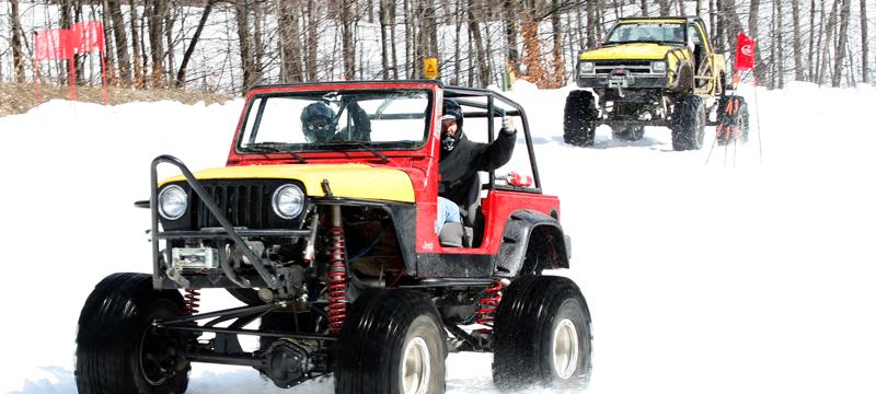 Schuss Mountain Snow Challenge Truck Races
