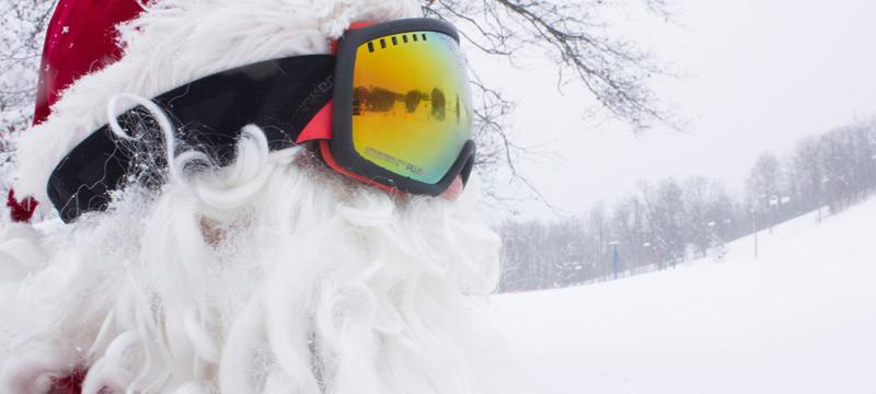 Ski Free With Santa
