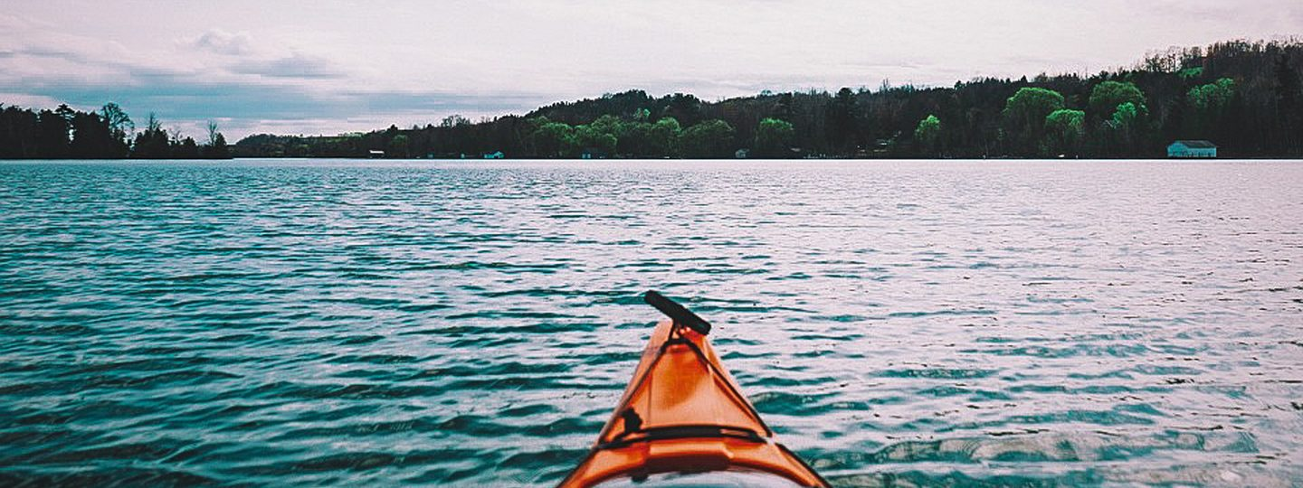 Kayaking on the Chain of Lakes