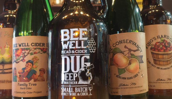 Bee Well Meadery collection of bottles