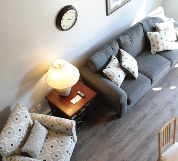 Bergrand Condominium Living Room