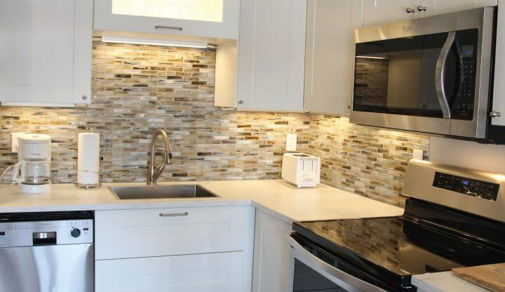 Bergrand Condominium Kitchen