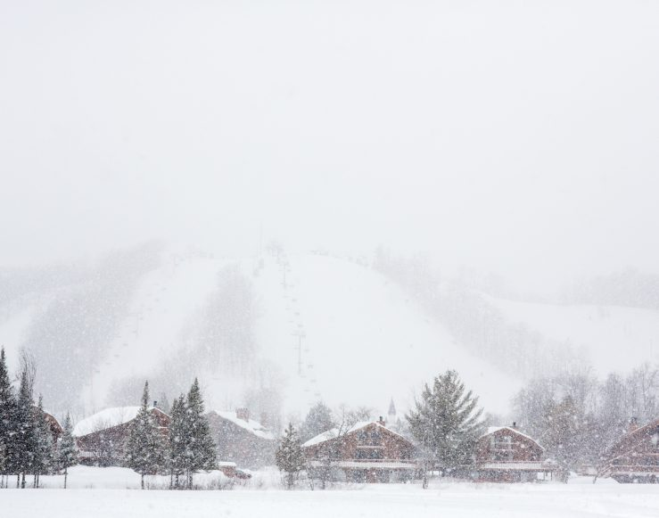 snowy Schuss Village