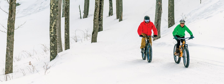 Fat Biking at Cedar River Village