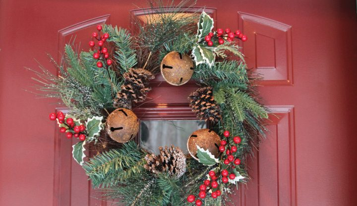 Vienna Woods Door with Wreath