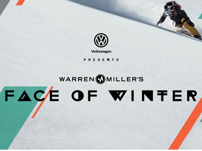 Warren Miller Entertainment presents Face of Winter showing Nov 23 at Ivan's, Schuss Mountain
