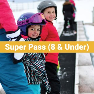 Super Pass (8 & Under)