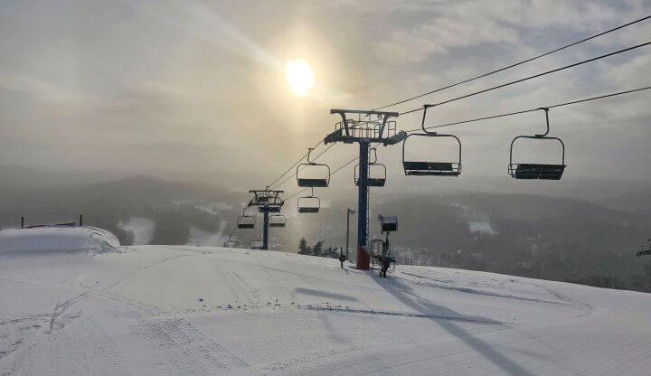 Sunrise at Schuss Mountain