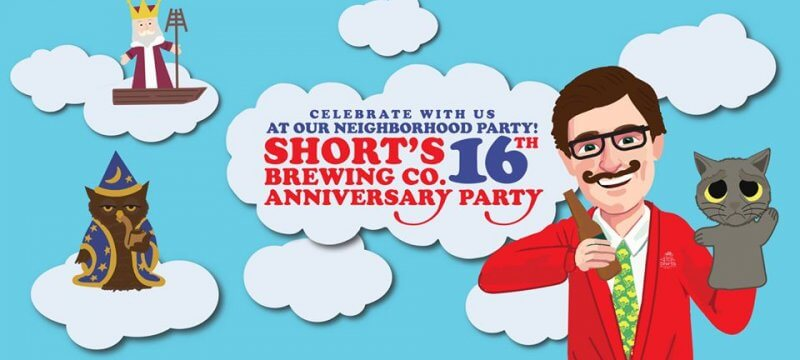 Short's Brewing Company's 16th Anniversary Party
