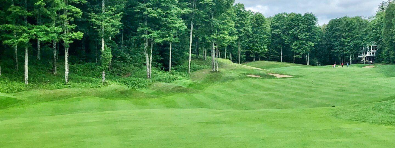 Cedar River golf course. hole #15
