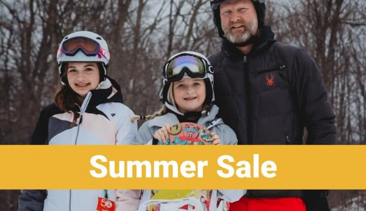 Summer Lift Ticket Sale