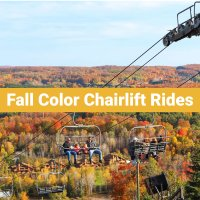 Fall Color Chairlift Rides