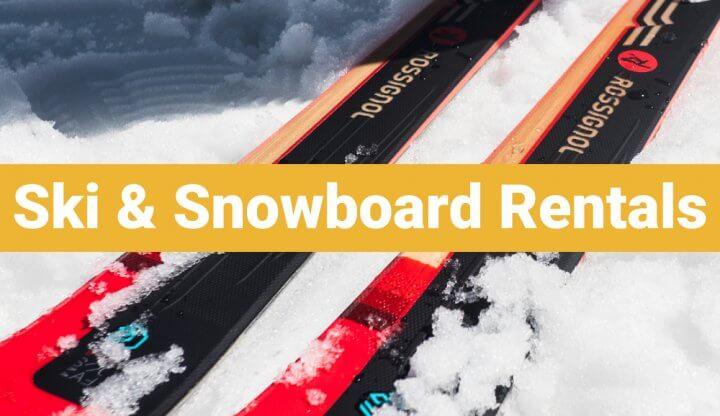 Skik & Snowboard Rentals
