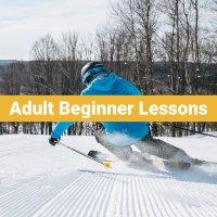 Adult (13+) Beginner Ski Lessons