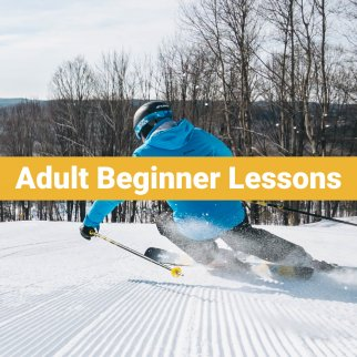 Adult (13+) Beginner Ski Lessons